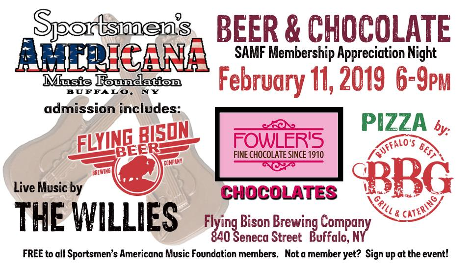 Beer & Chocolate Membership Appreciation Event
