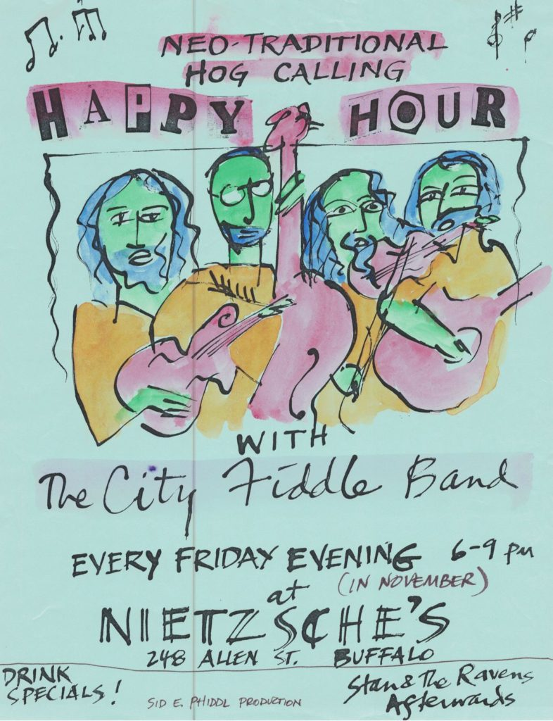 City Fiddle Poster