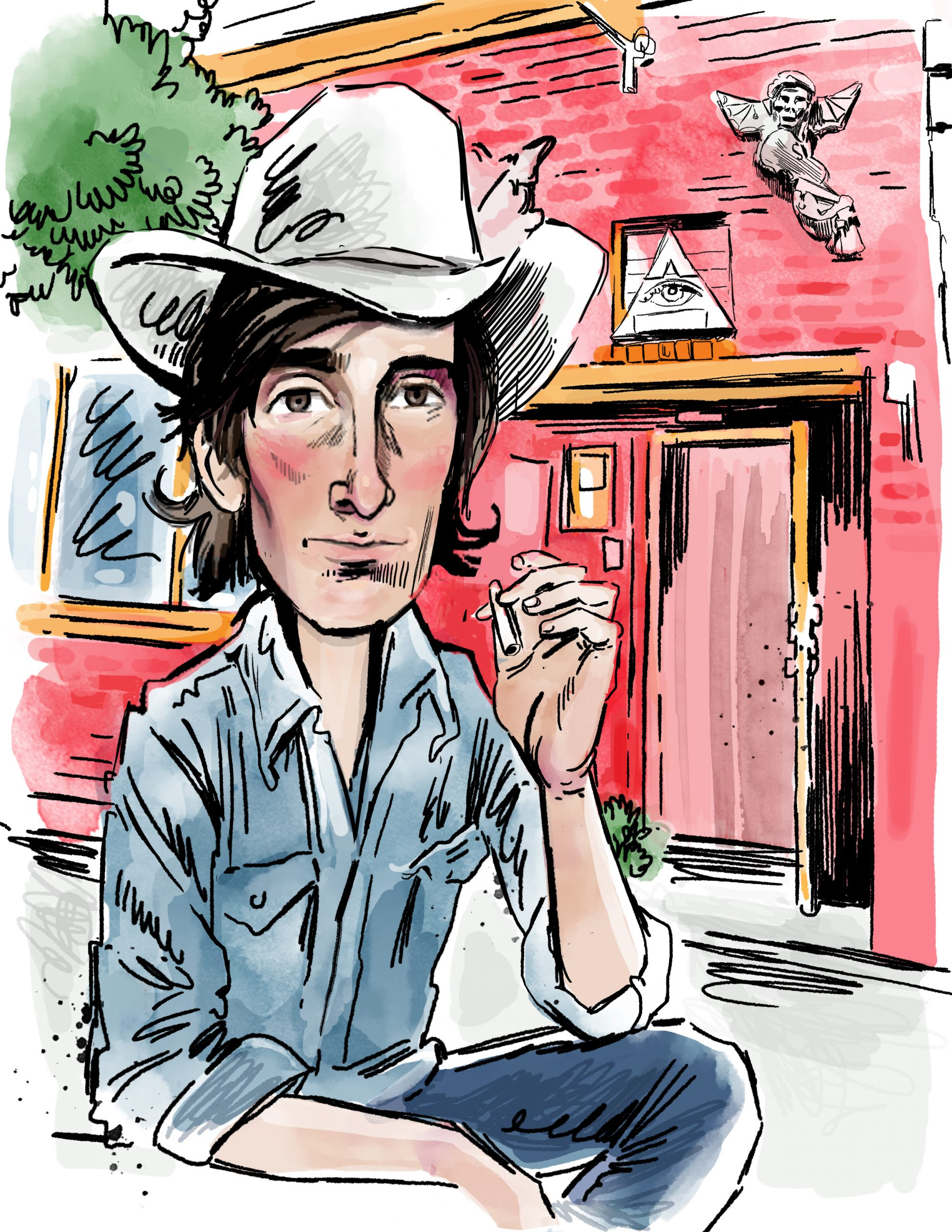 Searching For Townes Van Zandt in Buffalo