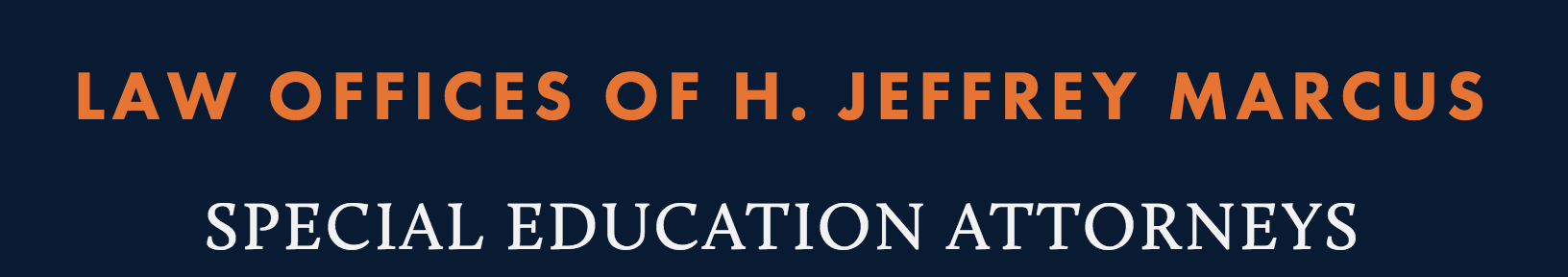 Sponsor of the Month: Law Offices of H. Jeffrey Marcus
