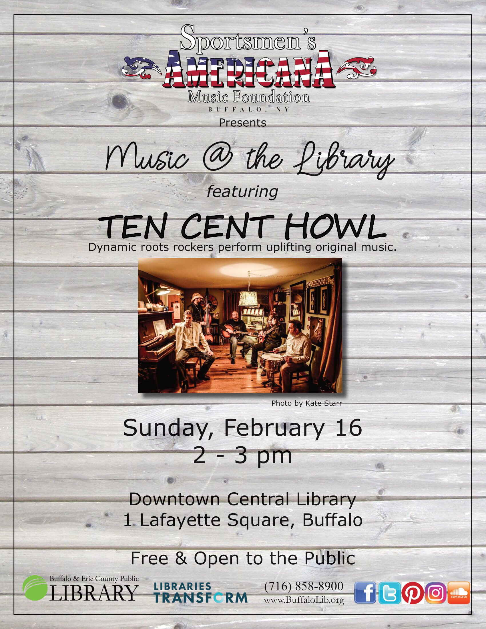 Music @ the Library to debut Feb. 16
