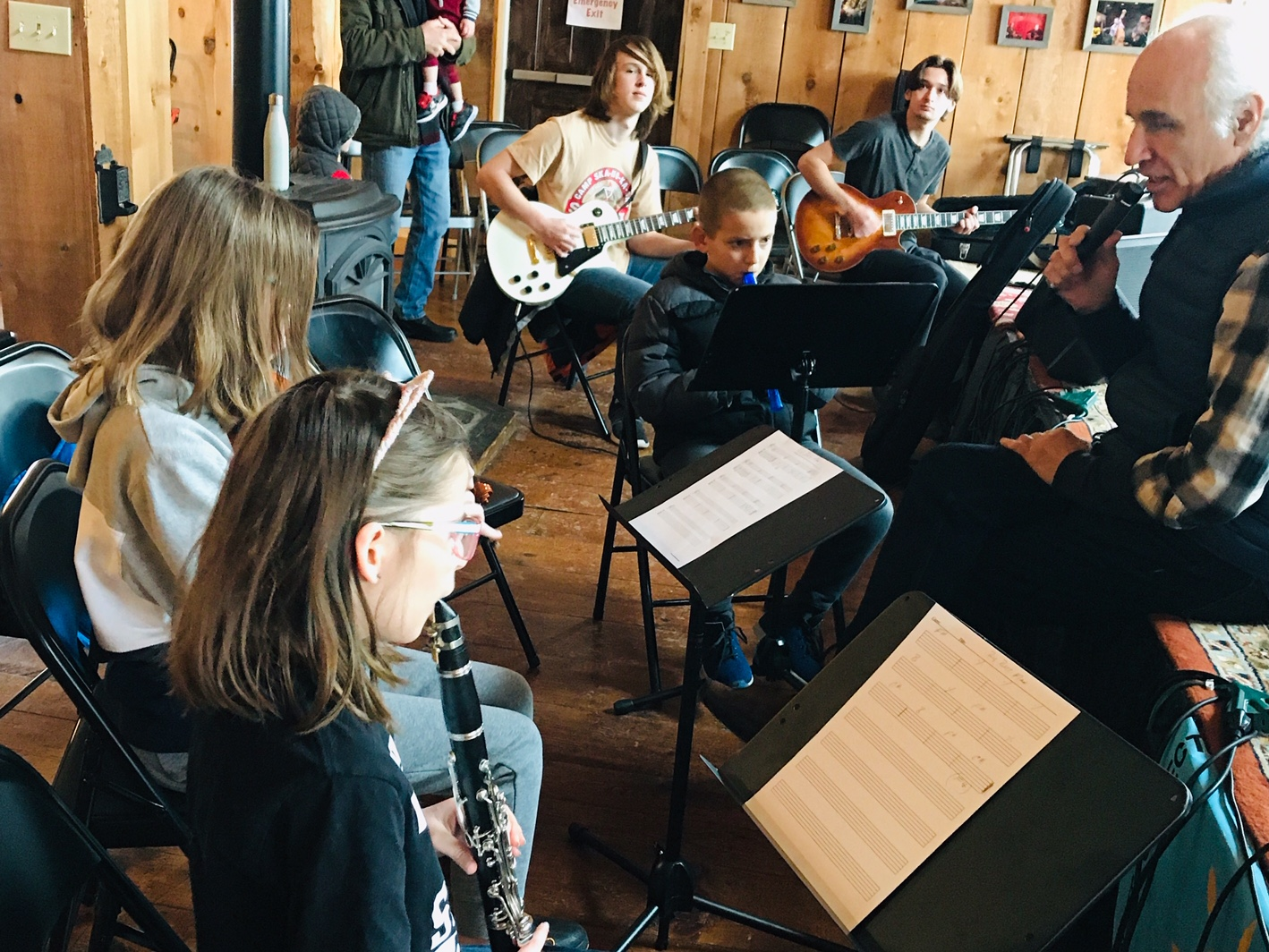 SAMF Joins Blues Society of Western New York to support youth musical mentoring