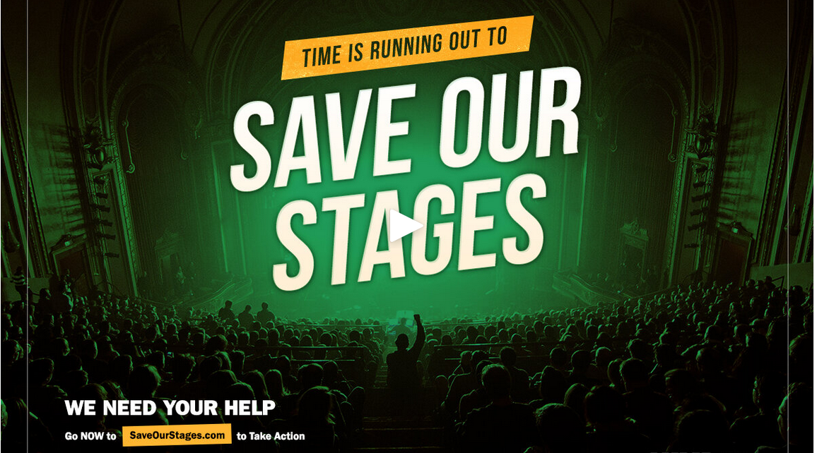 Save Our Stages pushes to preserve live music